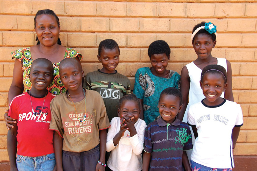 how to help orphans in africa